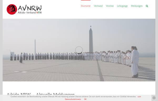 Vorschau von www.aikido-avnrw.de, Aikido Verband Nordrhein-Westfahlen (NRW)