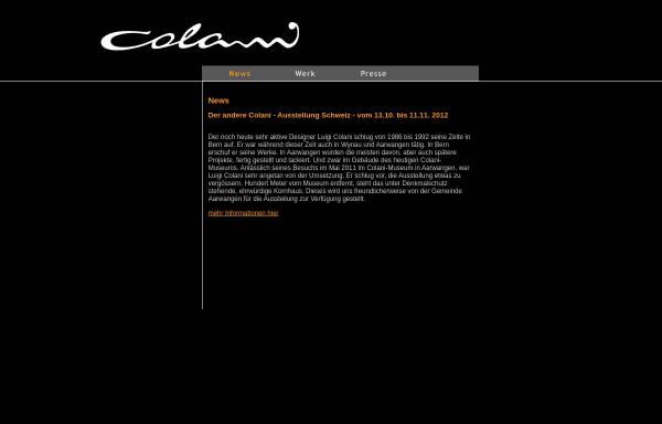 Vorschau von www.colani.de, Colani Design