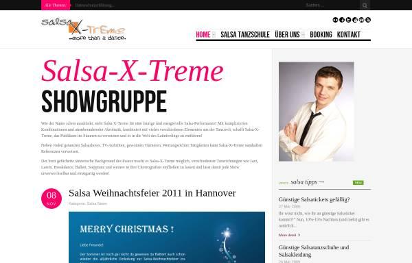 Vorschau von www.salsa-x-treme.com, salsa-x-treme