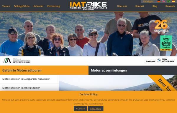 Vorschau von www.imtbike.com, Iberian Moto Tours IMTBike