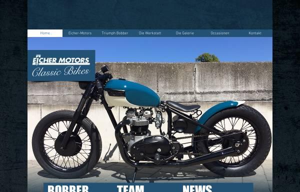 Vorschau von www.eicher-classic.ch, Eicher Motors Classic Bikes