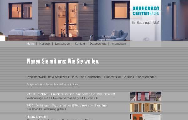 Vorschau von bauherrencenter-baden.com, Bauherrencenter Baden GmbH