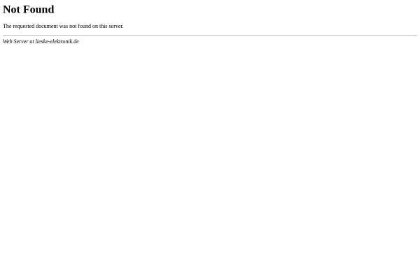 Vorschau von service.lieske-elektronik.de, Computer- und Telefonservice