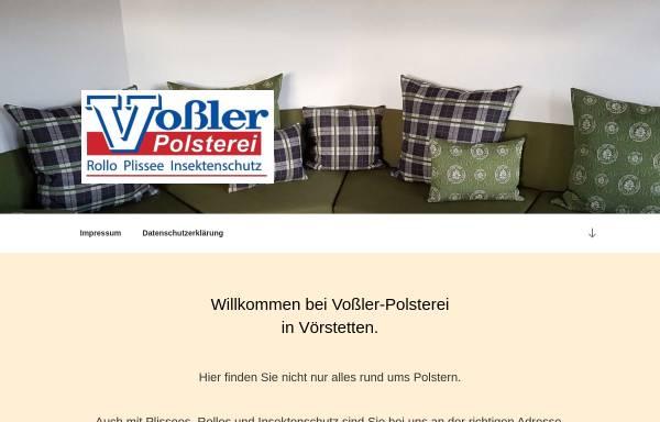 Vorschau von www.vossler-raumkultur.de, Vossler Raumkultur