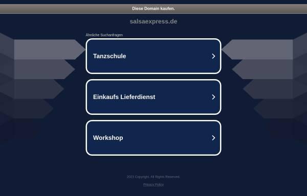Vorschau von www.salsaexpress.de, Salsa Express