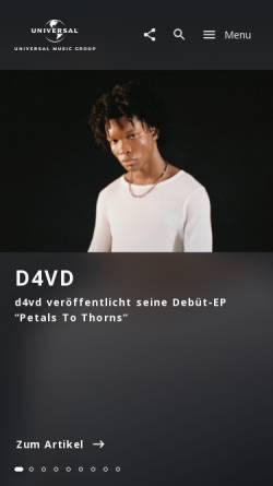 Vorschau der mobilen Webseite www.songwriters.de, Songwriters