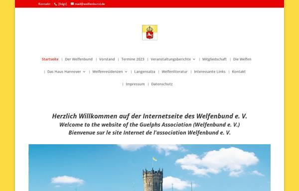Vorschau von www.welfenbund.de, Welfenbund