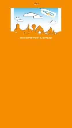 Vorschau der mobilen Webseite www.hostel-flensburg.de, Hostel Flensburg