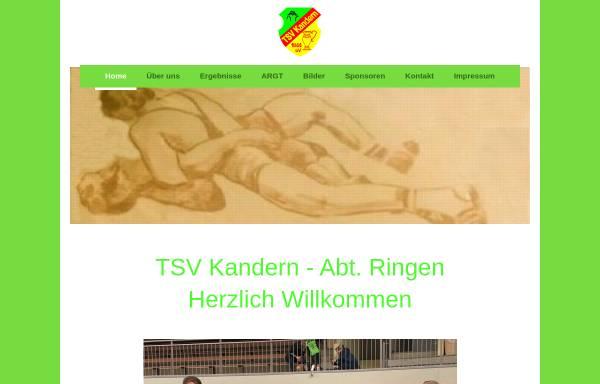 Vorschau von www.tsvkandern.de, TSV Kandern e.V.