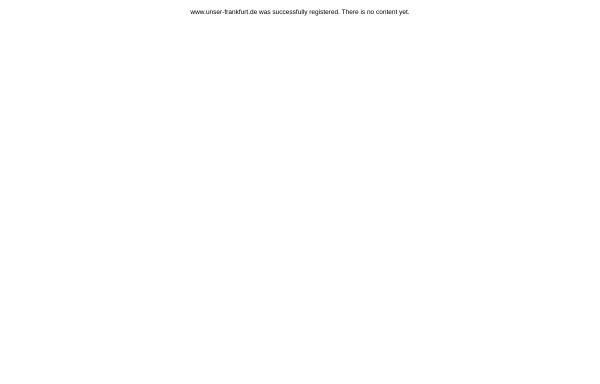 Vorschau von www.unser-frankfurt.de, Unser-Frankfurt - Das Stadtportal