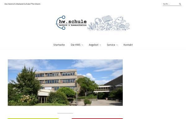 Vorschau von hw-schule.de, Heinrich-Wieland-Schule