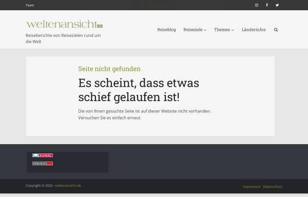 Vorschau von www.weltenansicht.de, Reisebericht einer Kenia Reise [Sven Rosenow]