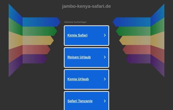 Vorschau von www.jambo-kenya-safari.de, www.jambo-kenya-safari.de [Birgitt Lokan und Joachim Zbrug]