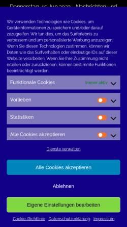 Vorschau der mobilen Webseite www.termin-commander.de, Termin Commander