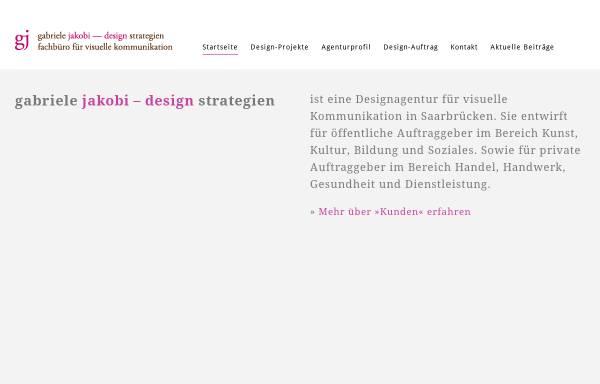 Vorschau von www.jakobi-design.de, Design Strategien Gabriele Jakobi
