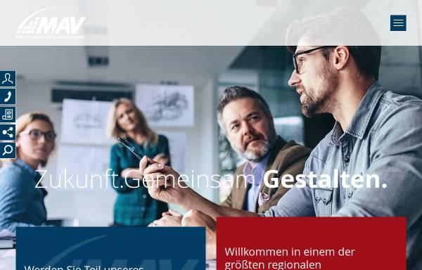 Vorschau von www.mav-net.de, Märkischer Arbeitgeberverband e.V. (MAV)