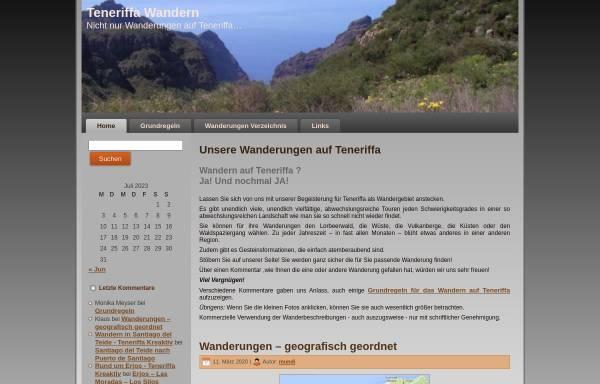 Vorschau von www.mundi-roth.de, Teneriffa Wandern [Manfred & Irmgard Roth]