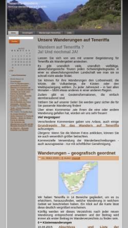 Vorschau der mobilen Webseite www.mundi-roth.de, Teneriffa Wandern [Manfred & Irmgard Roth]