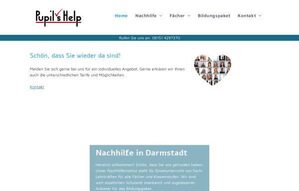 Vorschau von www.nachhilfeinstitut.biz, Pupil's Help