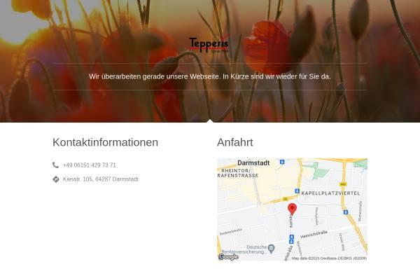 Vorschau von www.tepperis.com, Tepperis Sprachen