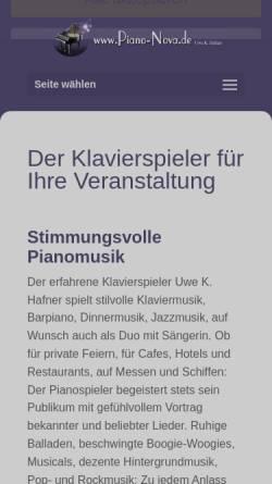 Vorschau der mobilen Webseite www.piano-nova.de, Piano-Nova