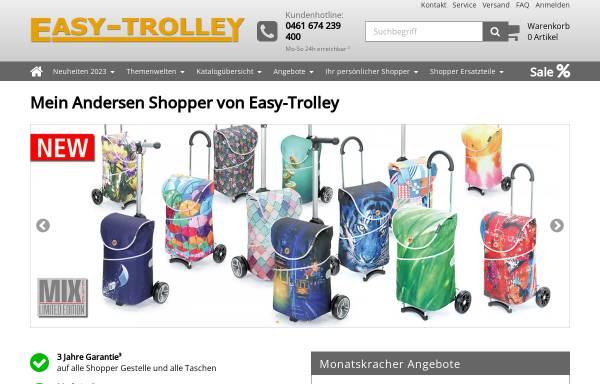Vorschau von www.easy-trolley.de, Einkaufstrolley, Ampel 24 Vertriebs GmbH & Co. KG