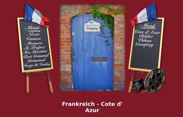 Vorschau von www.frankreich-cotedazur.de, Frankreich - Cote d Azur [Jörg Kammler]