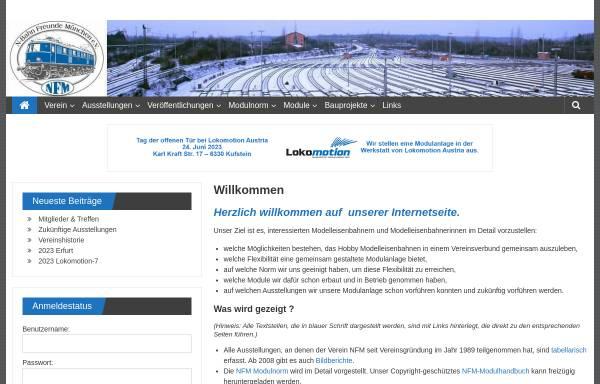 Vorschau von www.n-f-m.eu, N-Bahn Freunde München e. V.