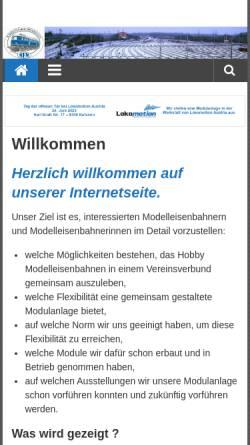 Vorschau der mobilen Webseite www.n-f-m.eu, N-Bahn Freunde München e. V.