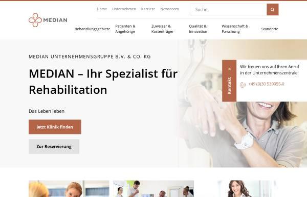 Vorschau von www.ahg.de, AHG Klinik Mecklenburg, Parber