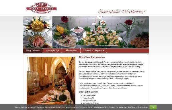 Vorschau von www.paulsen-partyservice.de, Paulsen Cafe, Törberhals