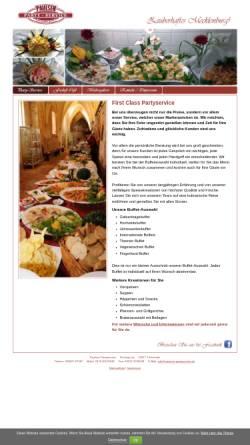 Vorschau der mobilen Webseite www.paulsen-partyservice.de, Paulsen Cafe, Törberhals