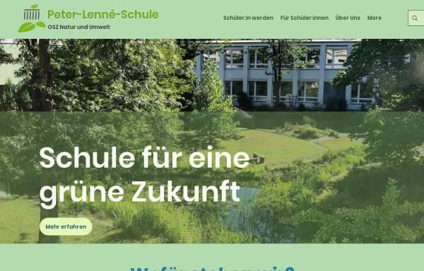 Vorschau von www.peter-lenne-schule.de, OSZ Agrarwirtschaft - Zehlendorf