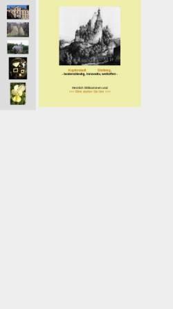 Vorschau der mobilen Webseite www.stolberg-abc.de, Alphabet der Heimatkunde