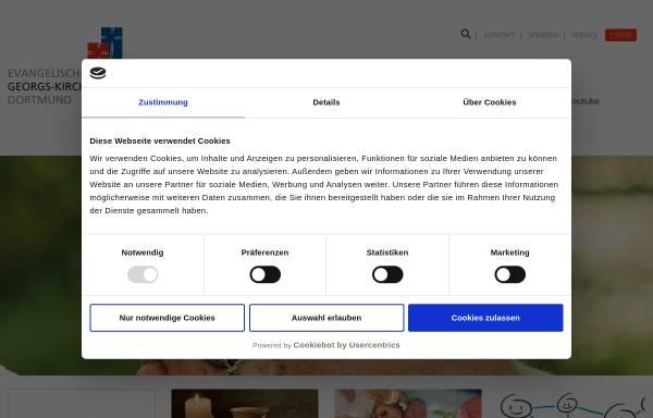Vorschau von www.georgsgemeinde.de, Evangelische Georgs-Kirchengemeinde