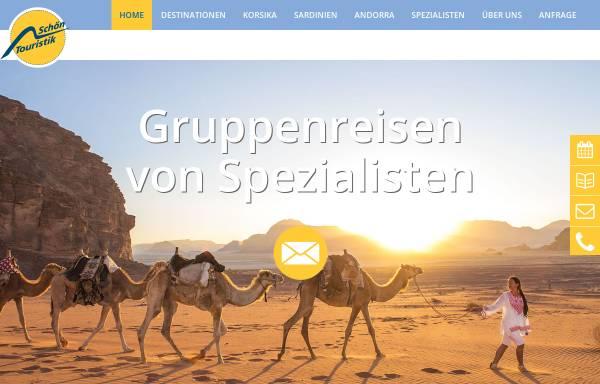 Vorschau von www.schoen-touristik.de, Schön Touristik
