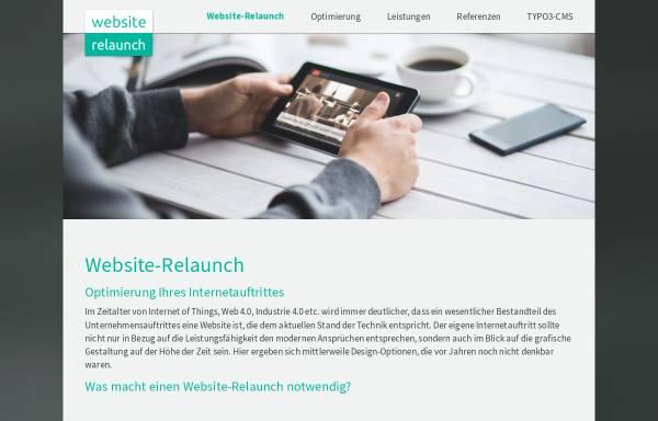Vorschau von www.website-relaunch.eu, Website Relaunch - Website-Optimierung mit TYPO3