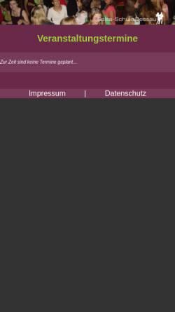 Vorschau der mobilen Webseite www.schlaflos-in-dessau.de, Salsaschule Dessau