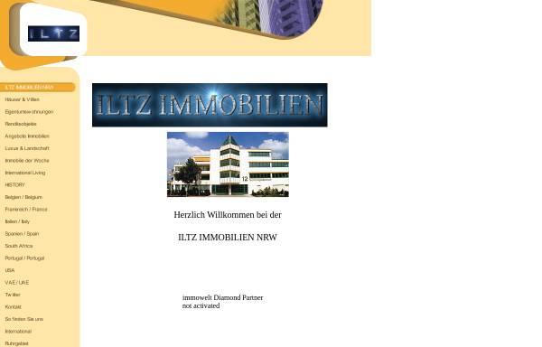 Vorschau von www.iltz.de, Iltz Immobilien- und Grundstücksentwicklung