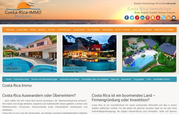 Vorschau von www.costa-rica-immo.com, Costa Rica Immobilien