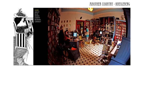 Vorschau von www.anothercountry.de, Another Country: English Language Bookshop - Library - Club