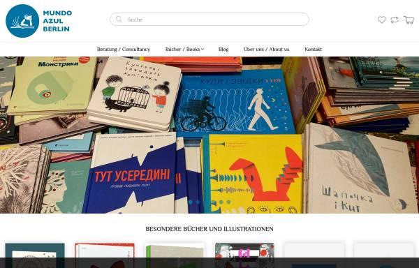 Vorschau von mundoazul.de, Kinderbuchhandlung mundo azul - Internationale Bücher