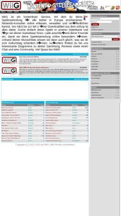 Vorschau der mobilen Webseite wiig.de, WiiG