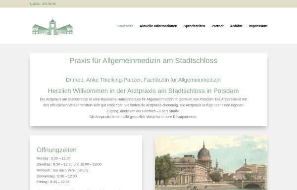 Vorschau von dr-thielking.de, Arztpraxis Nauener Tor