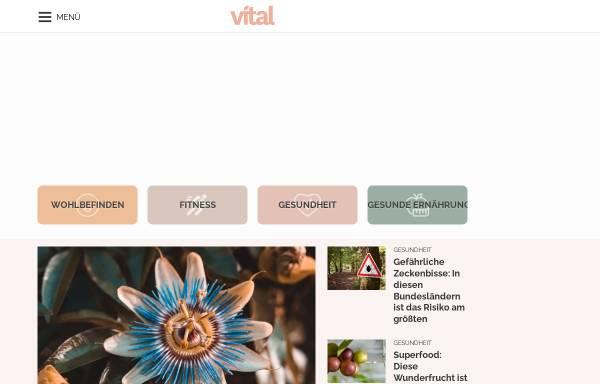 Vorschau von www.vital.de, Vital