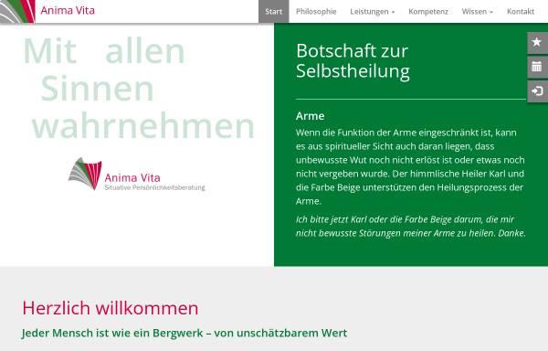 Vorschau von situative-persoenlichkeitsberatung.com, Anima Vita