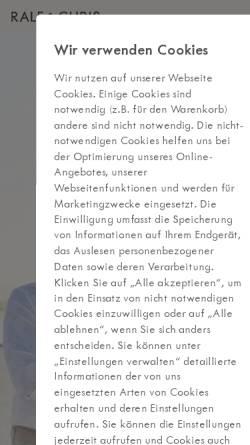 Vorschau der mobilen Webseite www.thework-seminare.de, Ralf Giesen