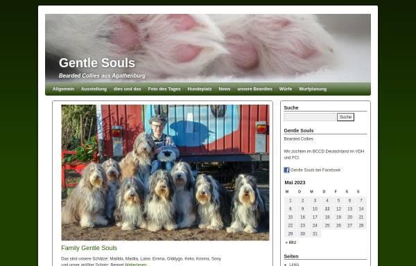 Vorschau von www.gentle-souls.de, Gentle Souls