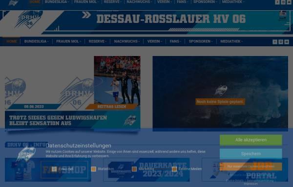 Vorschau von www.dessau-rosslauer-hv.de, Dessau-Roßlauer HV 06