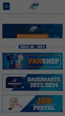 Vorschau der mobilen Webseite www.dessau-rosslauer-hv.de, Dessau-Roßlauer HV 06